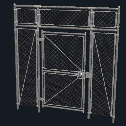 Attirant Chainlink Fence Gate