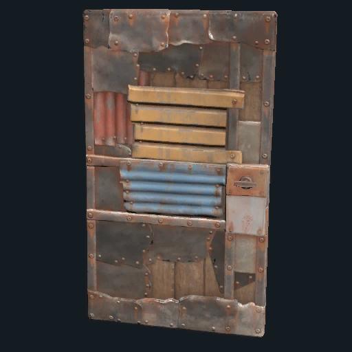 Sheet Metal Door Rust Wiki Fandom Powered By Wikia