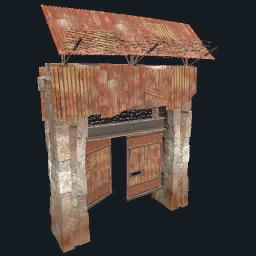 High External Stone Gate | Rust Wiki | FANDOM powered by Wikia
