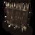 Значок внешней внешней деревянной стены