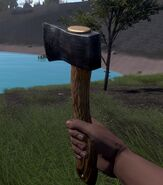Hatchet in game