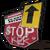 Значок дорожных знаков