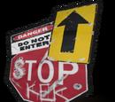 Road Sign Jacket