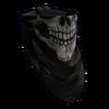 Значок черепа Банданы
