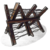 Значок металлической баррикады