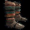 Иконка индейской скрыть обувь
