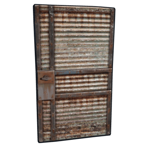 Recycled Garage Door Rust Wiki Fandom Powered By Wikia