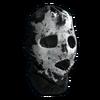 Значок черепа Rorschach