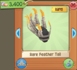 Feather Tail Rare