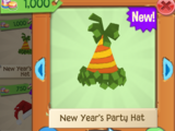 New Year's Party Hat