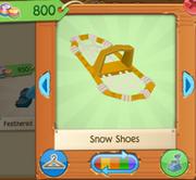 GoldSnowShoes