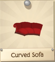 Curved Sofa | Play Wild Item Worth Wiki | FANDOM powered by Wikia