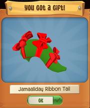 Ribbon tail