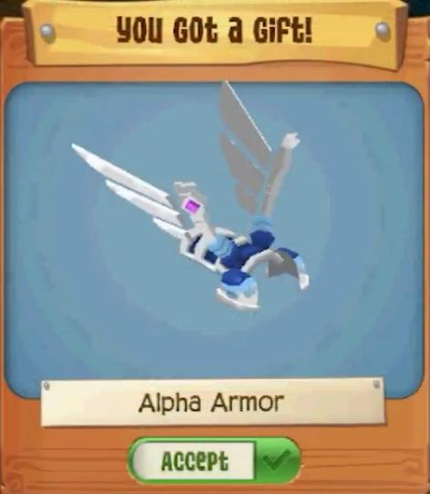 Alpha Armor | Play Wild Item Worth Wiki | FANDOM powered by