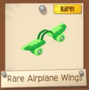 LimeAndGreenAirplaneWings