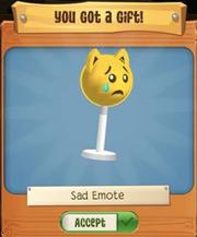 Sad Emote