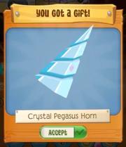 Crystalpeghornblue
