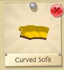 Curved Sofa0