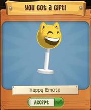 Happy Emote