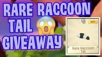 How To Get Rare Raccoon Tail for FREE in 2020 AJPW rc tail giveaway (OPEN)