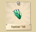 Green Feather Tail