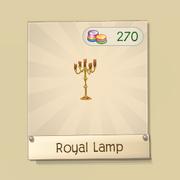 AJ golden royal lamp