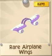 PurpleAndWhiteAirplaneWings