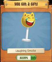 Laughing Emote