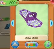 PurpleSnowShoes