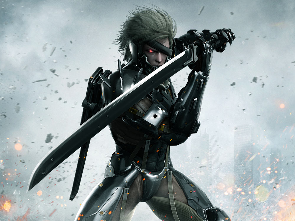 Raiden Is A Main Character Of The Metal Gear