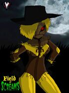 Field of Screams - The Scarecrow's New Outfit