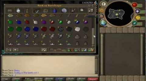 RuneScape - Bank Video ~130m By Nuez Taco