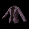Women's Tuxedo Jacket (Purple)