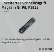Erweitertes Schnellzugriff-Magazin für Pistolen