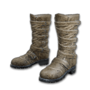 Long Leather Boots (Brown) - Shoes - PUBG