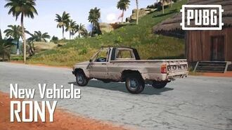 PUBG - New Sanhok Vehicle - Rony