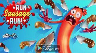 Run Sausage Run Game Trailer TabTale