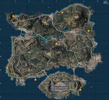 Карта спавна ракетниц