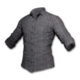 PUBG Gestreiftes Hemd (Grau)