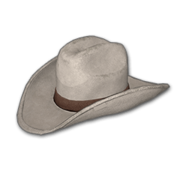 Cowboy Hat (White) - Hat - PUBG