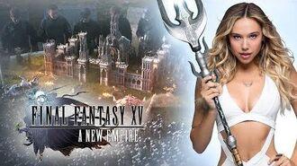 "Final Fantasy XV A New Empire - Alexis Ren in ""Join the Adventure"""