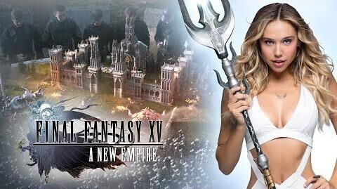 "Final Fantasy XV A New Empire - Alexis Ren in ""Join the Adventure"""