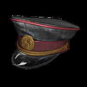 Military Cap (Black) - Hat - PUBG
