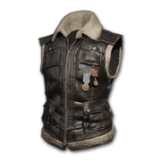 Sleeveless Biker Jacket (Black) - Jacket - PUBG