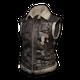 Sleeveless Biker Jacket (Black) - Jacket - PUBG