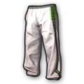 Green Stripe Tracksuit Pants