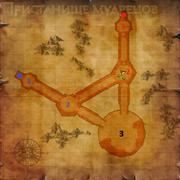 Карта Пристанища мудрецов