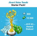 Award Statue Bundle