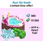 Heart Tub Bundle
