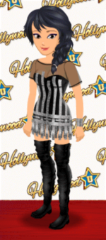 FEMALE OUTFIT (TINSEL TOWN)